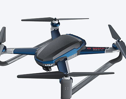 Bosch x Drone for Emergency