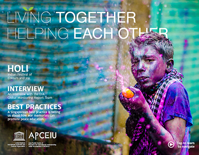 Living Together Helping Each Other - Mock Publication
