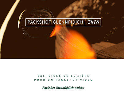 VIDEO | Packshot Glenfiddich Single Malt Whisky