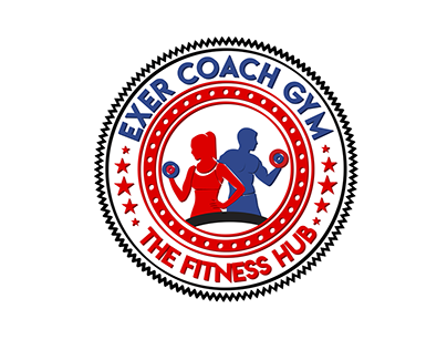 Exer Coach Gym -- Logo Designing