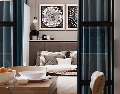 60.8 І Apartment in LVIV І 40 sq.m.
