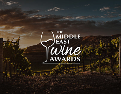 The Middle East Wine Awards - web design