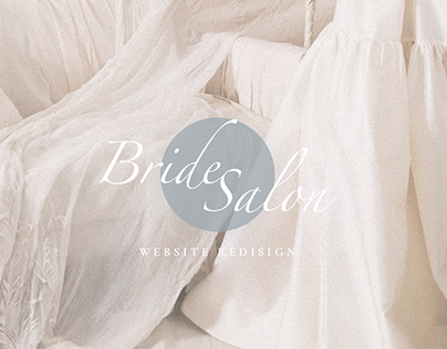 Wedding Salon website design