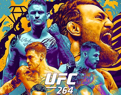 UFC 264 Official Key Art
