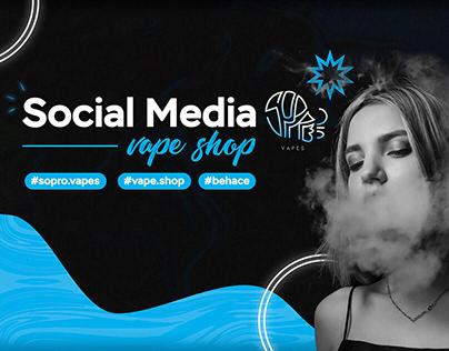 Social Media - Sopro Vapes