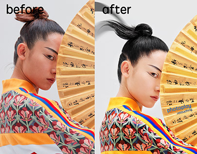 before&after photo retouching