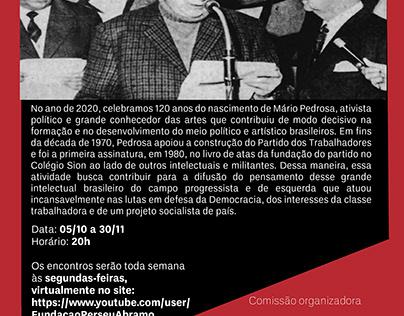 Seminário Homenagem a Mário Pedrosa, 120 anos