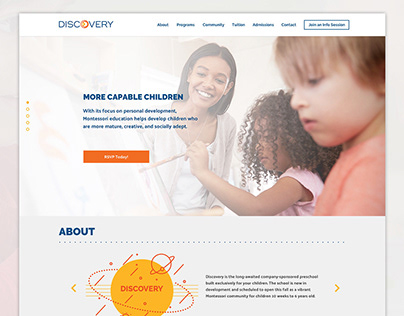 Discovery Website UI
