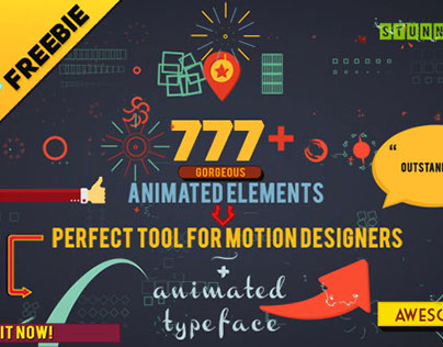 Shape Elements - Animated Elements [ Motion Graphics ]