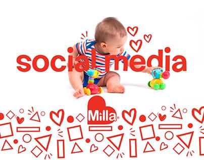 Social Media | Milla Baby