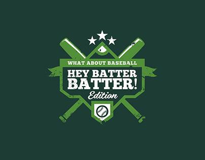 Hey Batter Batter! Brand Identity