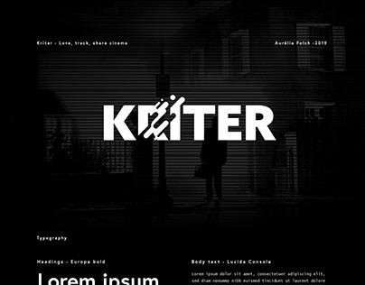 Kriter - Design UX/UI