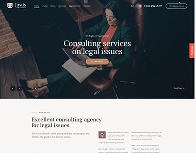 Qwery - Multi-Purpose Business WP Theme: Lawyer
