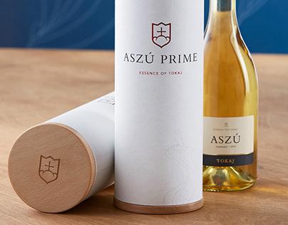 ASZÚ PRIME - Special Tokaj wine collections branding