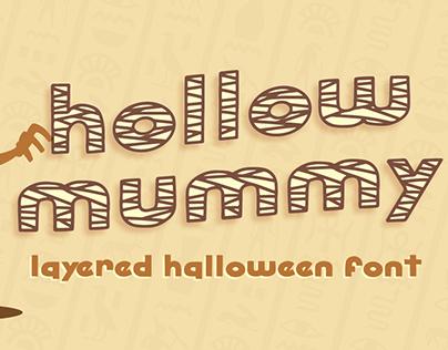 Hollow Mummy | Halloween Font