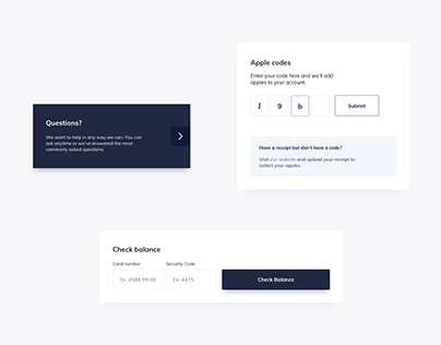 Day 1199・Membership UI Components Design