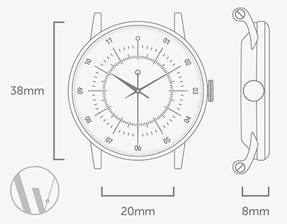 Blueprints of Popular Watch
