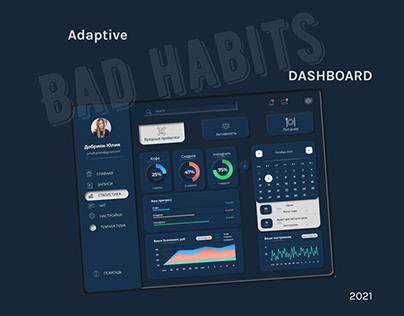 Bad Habits - Dashboard (design)