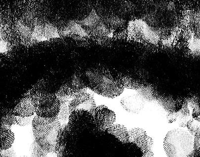 IDENTITIES · Fingerprint drawing