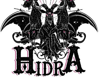 Etiqueta Hidra. Treintaycinco Fábrica de Cervezas.