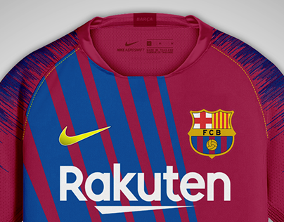 FC Barcelona - home, away & third.
