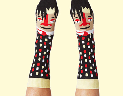Chatty feet socks