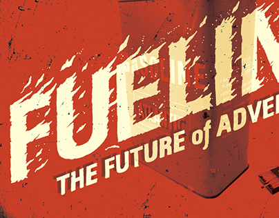 'Fueling' Lettering Piece