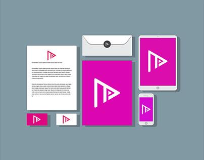 Porter Media Logo and Brand identity