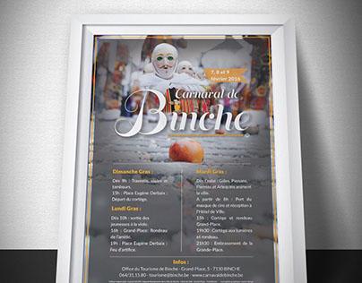 Carnaval de Binche 2016 | Graphic Design