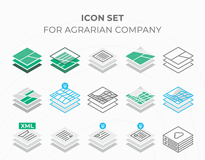 ICON SET (FOR AGRARIAN COMPANY)