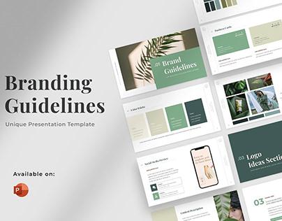 Branding Guidelines Powerpoint