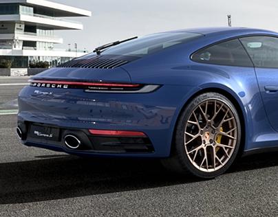 2020 Porsche 911 (992) Carrera S / 3D Renders
