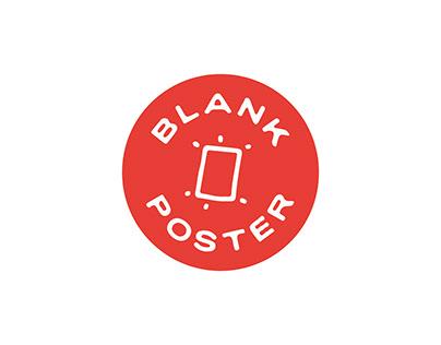 Blank Poster series #1