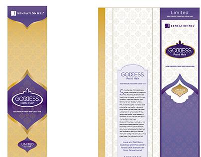 Sensationnel Goddess Premium Packaging