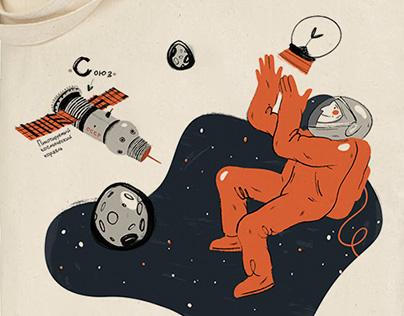 Сувениры для Музея космонавтики//Gifts for museum