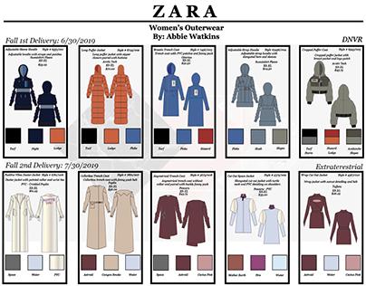 Zara Line Sheet