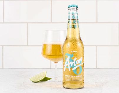 Åbro Arton 56 - bottle design