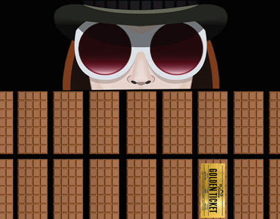 Willy Wonka Movie Poster Design