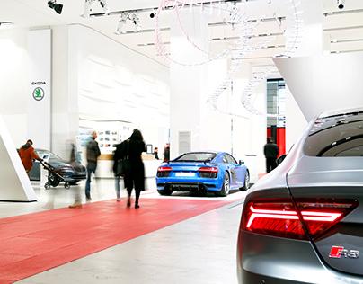 Audi City Lab Berlin - 2016