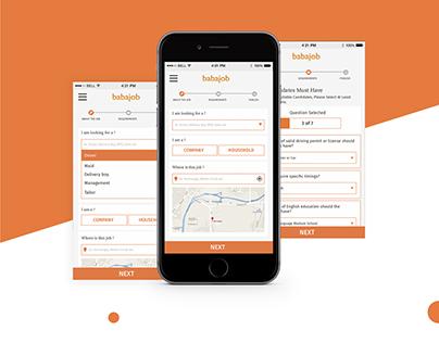 Babajob Employer App