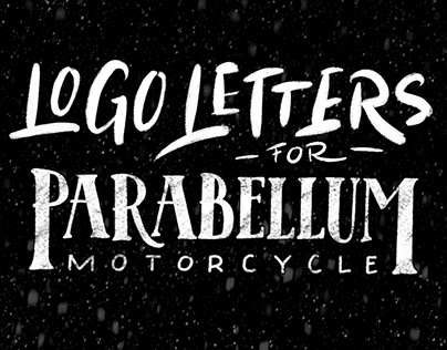 Parabellum Motorcycle Lettering