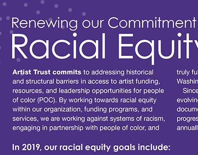 Racial Equity Framework Sheet