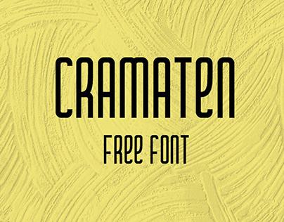 CRAMATEN - FREE FONT