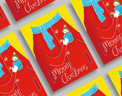 POCKET XMAS 口袋聖誕節 | 2015POCKET XMAScard design