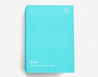 Quest – a logbook for scuba divers