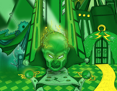 """Wizard of Oz"" Set Designs"