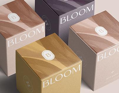 Bloom. Velas aromáticas artesanales | Branding project