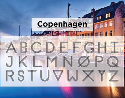 Copenhagen: A Primitive Typeface