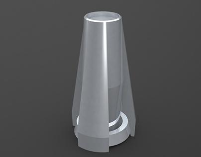 Concept Foot Refrigerator