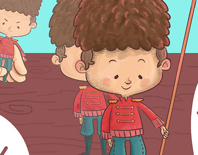Children's book / Livro infantil-O Soldadinho de Chumbo